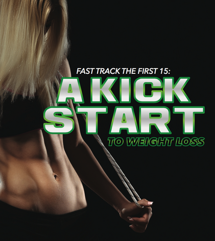 Fast Track to the First 15: A Kick Start to Weightloss Ebook