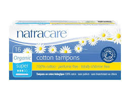 Natracare - Organic Cotton Super Applicator Tampons (16)