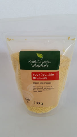 Health Connection Wholefoods - Soy Lecithin Granules (180g)
