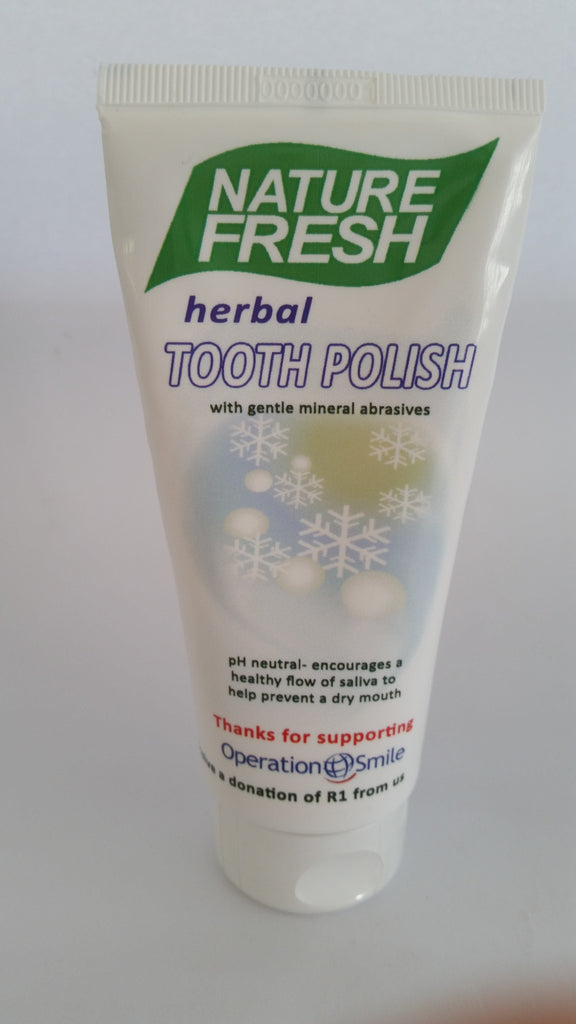 Nature Fresh - Herbal Tooth Polish (100ml)