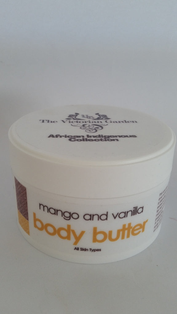The Victorian Garden - Mango & Vanilla Body Butter (200g)