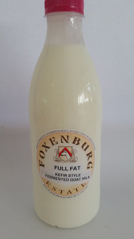 Foxenburg - Kefir Style Fermented Goat Milk (300ml)