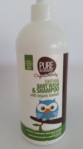 Pure Beginnings - Soothing Baby Wash & Shampoo (500ml)