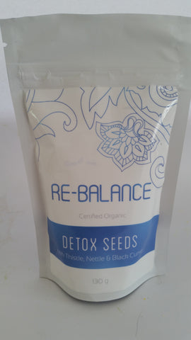 Good Life Organic - Re-Balance Detox Seed Mix 130g
