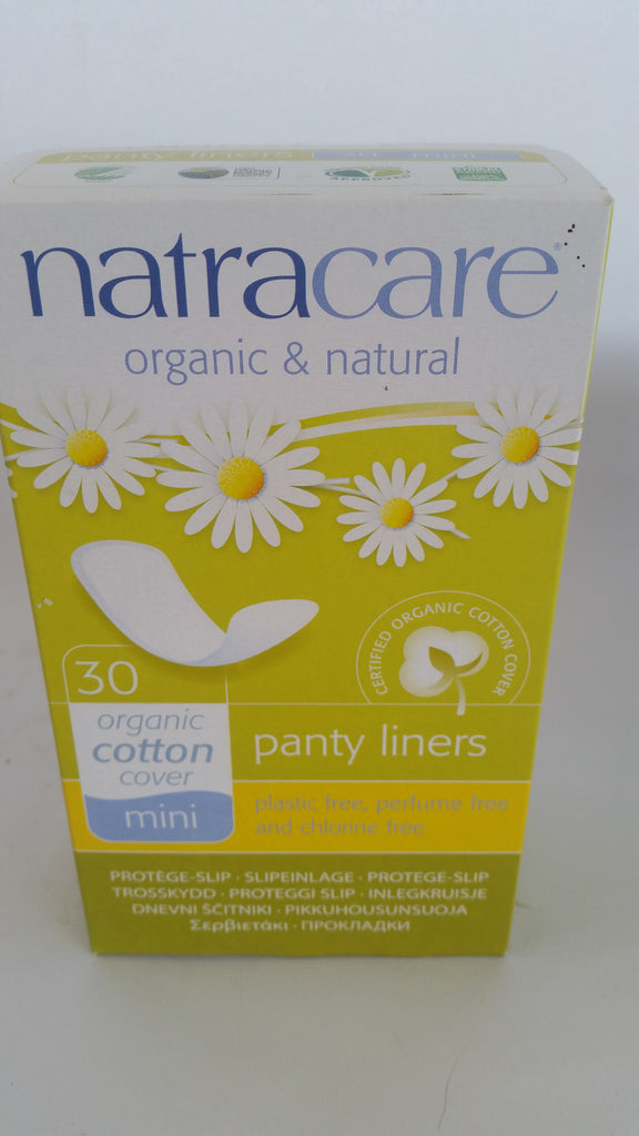 Natracare - Organic Cotton Mini Panty Liners (30)