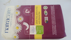 Natracare - Organic Cotton Maxi Pads Regular (14)