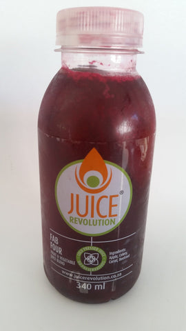 Juice Revolution - Fab Four (340ml)