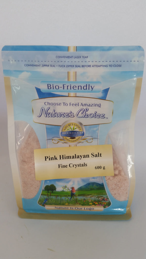 Nature's Choice - Fine Pink Himalayan Salt (600g)