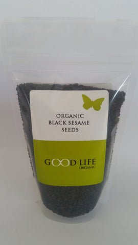 Good Life Organic - Organic Black Sesame Seeds (175g)