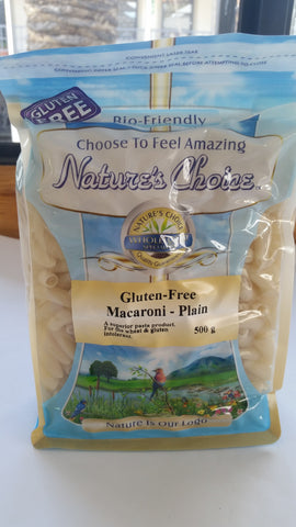 Nature's Choice - Gluten Free Macaroni Plain (500g)