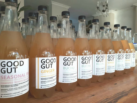 Good Gut - Activated Charcoal Water Kefir (500ml)