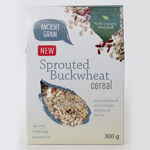 Health Connection Whole Foods Sprouted Buckwheat Cereal - 300g