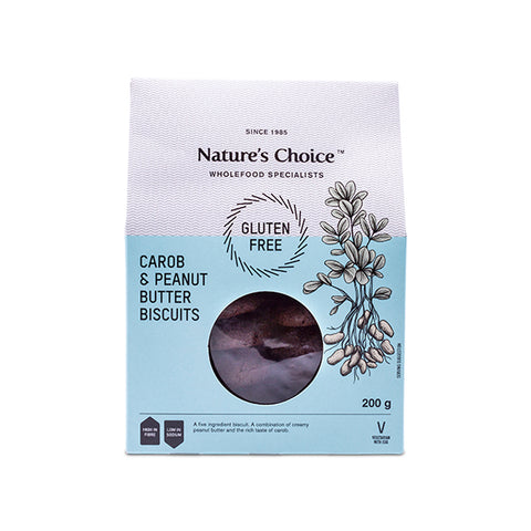 Nature's Choice - Carob & Peanut Butter Biscuits (200g)