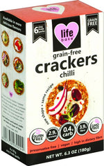 Life Bake - Grain-Free Chilli Crackers (180g)