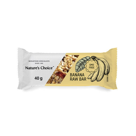 Nature's Choice - Banana Bread Raw Fruit Bar (40g)
