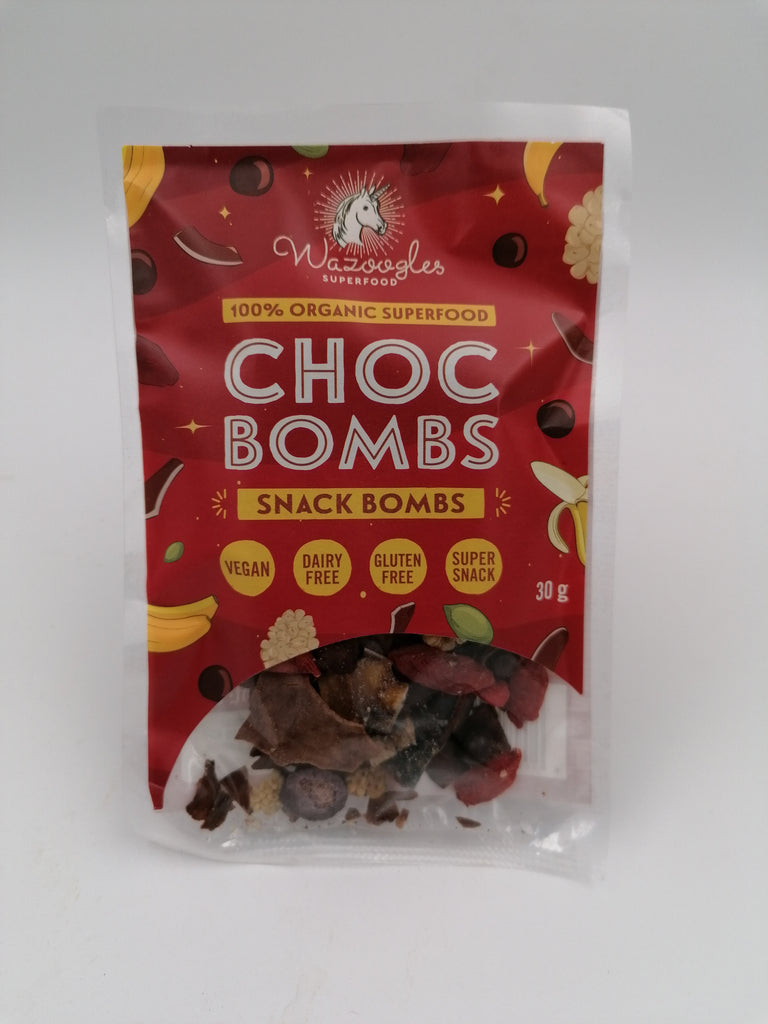 Wazoogles - Choc Bombs Snack Bombs (30g)