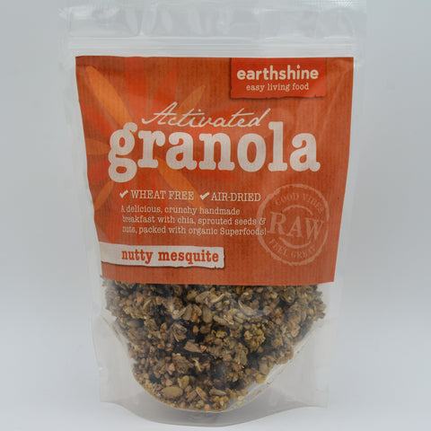 Earthshine - Activated Granola Nutty Mesquite (250g)