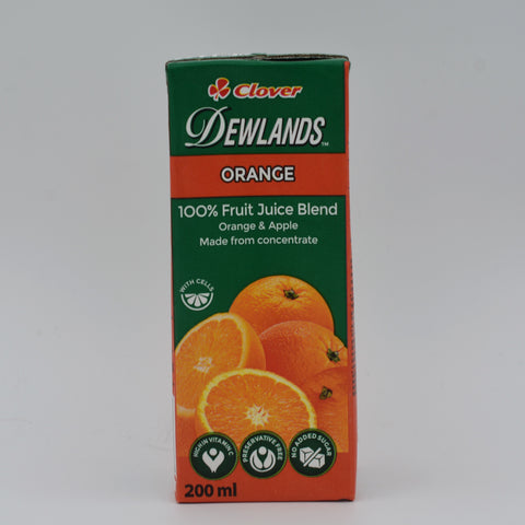 Dewlands - 100% Orange Juice (200ml)