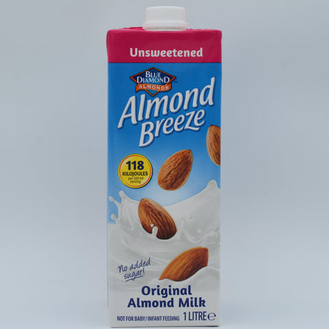 Blue Diamond - Almond Breeze Almond Milk Unsweetened (1L)