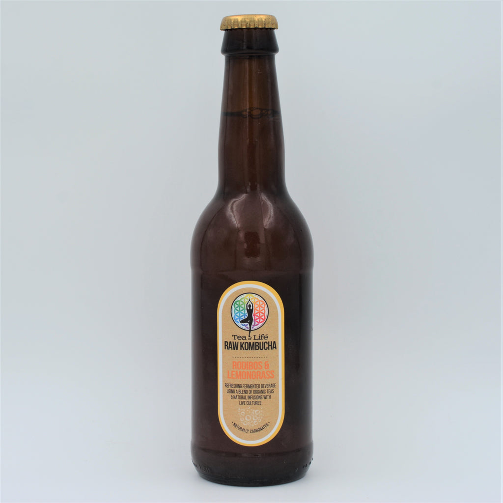 Tea Of Life - Kombucha Rooibos & Lemongrass (340ml)