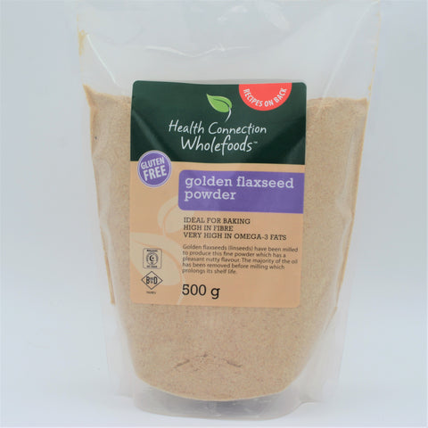 Health Connection Wholefoods - Golden Flaxseed Powder (500g)