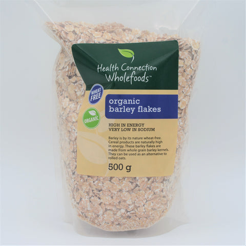 Health Connection Wholefoods - Organic Barley Flakes (500g)