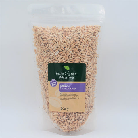 Health Connection Wholefoods - Puffed Brown Rice (100g)