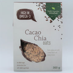 Health Connection Wholefoods - Cacao Chia Oats (300g)