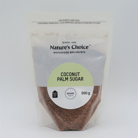 Nature's Choice - Organic Coconut Palm Sugar (200g)