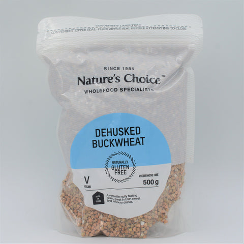 Nature's Choice - Dehusked Buckwheat (500g)