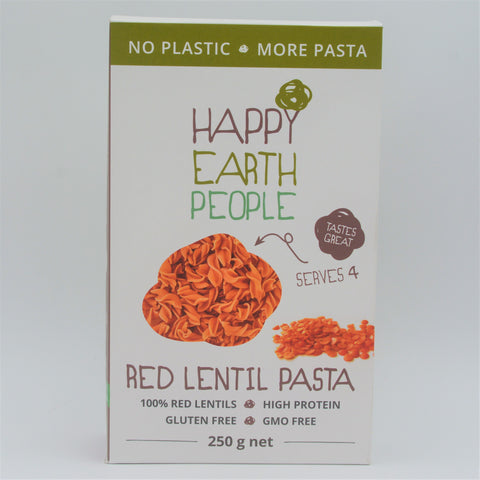Happy Earth People - Red Lentil Pasta (250g)