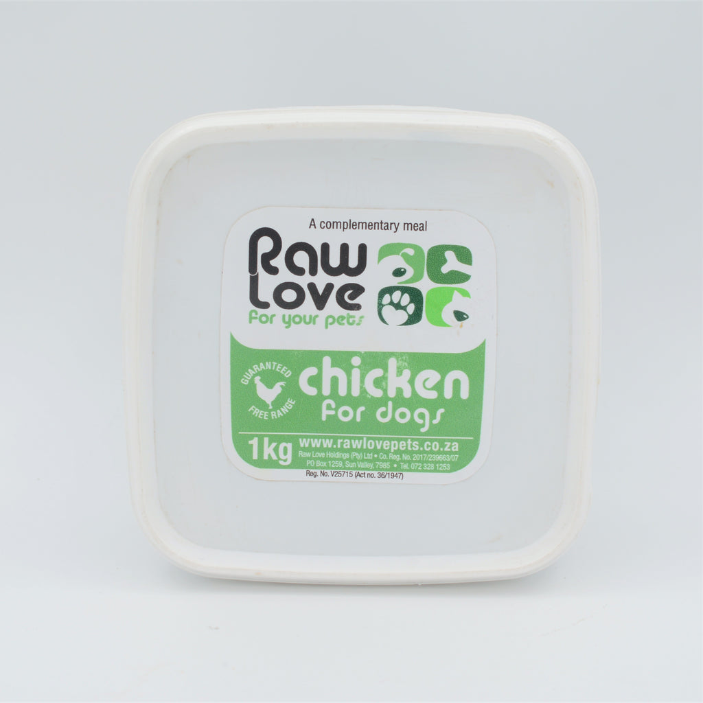 Raw Love Pets - Chicken Meal For Dogs (1kg)