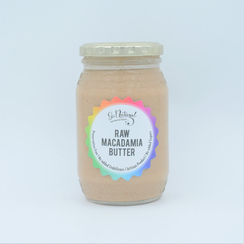 So Natural - Raw Macadamia Butter (352g)