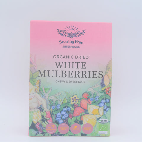 Soaring Free Superfoods - Organic White Mulberries (200g)