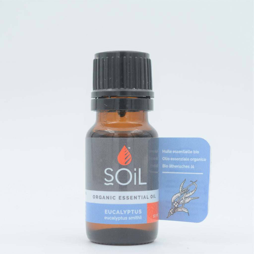 SOil - Organic Eucalyptus Essential Oil (10ml)