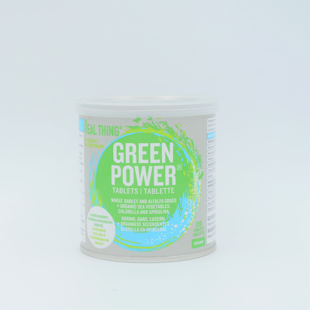 The Real Thing - Green Power Tablets (150 tablets)