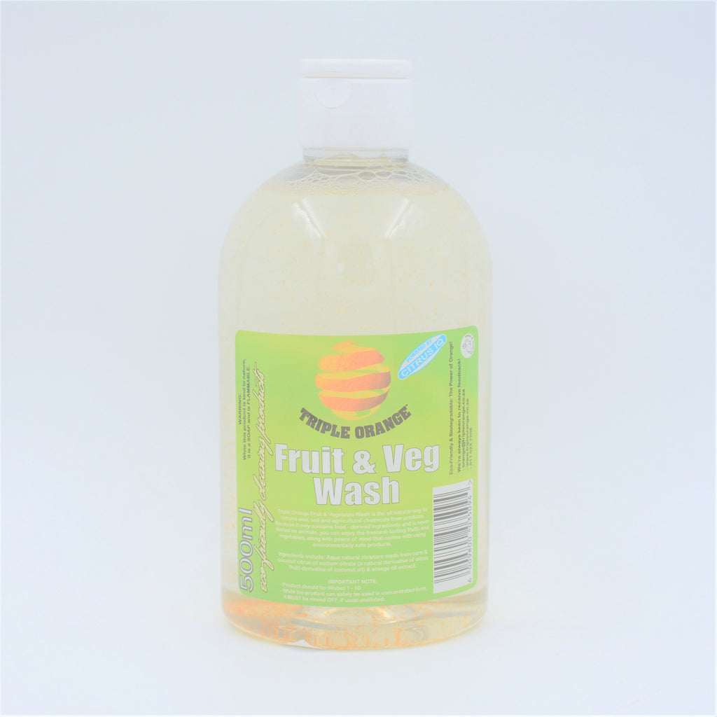 Triple Orange - Fruit & Veg Wash (500ml)
