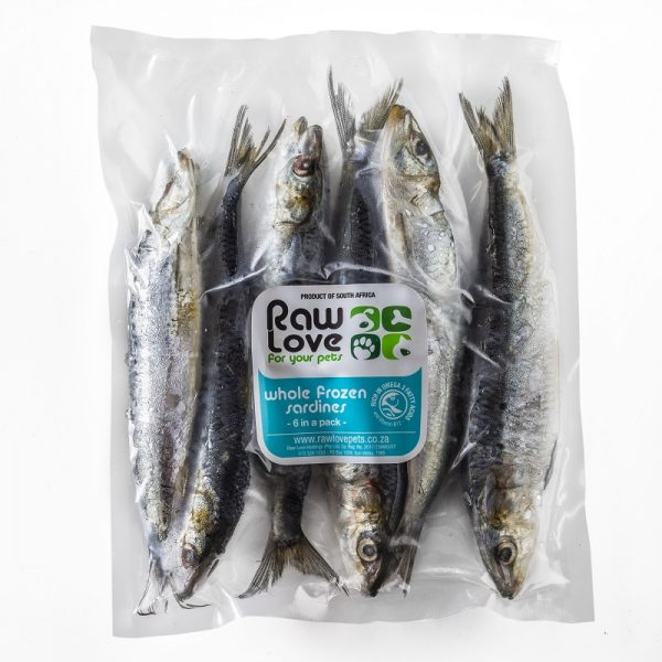 Raw Love Pets - Sardines (6 pack)