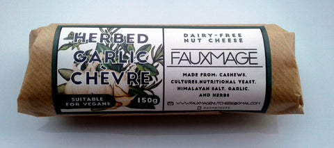 Fauxmage - Garlic & Herb Chevre (150g)