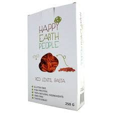 Happy Earth People- Red Lentil Pasta