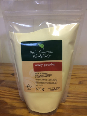 Health Connection Wholefoods - Whey Powder 500g