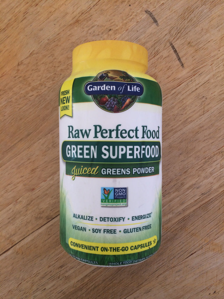 Garden of Life - Perfect Food Raw (240 capsules)