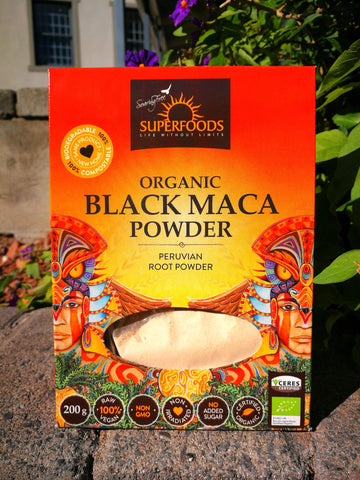 Saoring Free Superfoods - Organic Black Maca Powder (200g)