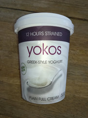 Yokos - Full Cream Greek Yoghurt (500g)
