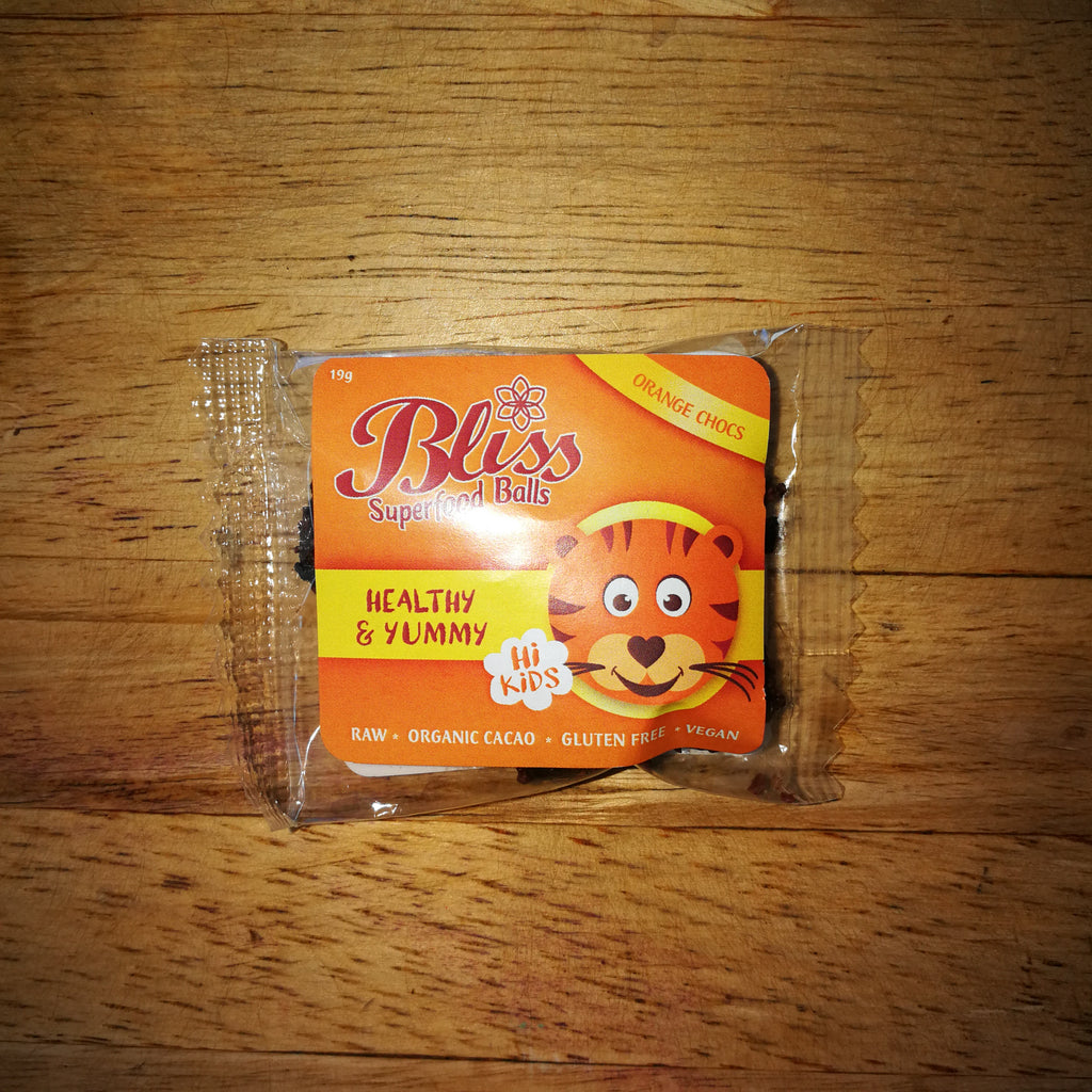Bliss Superfood Balls - Orange Chocs (19g)