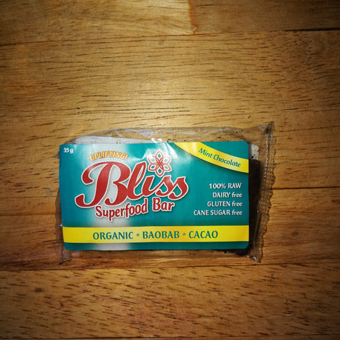 Bliss Superfood Bars - Mint Chocolate (35g)