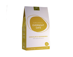 Good Life Organic - Overnight Oats Choc & Gooseberries (325g)