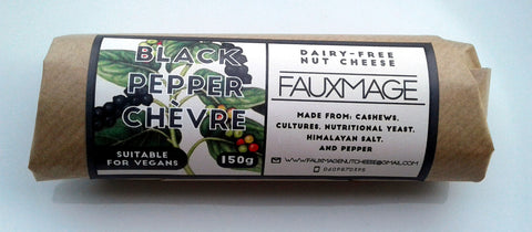 Fauxmage - Black Pepper Chevre (150g)