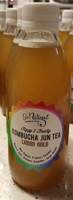 So Natural- Jun Kombucha Ginger Glace 750ml