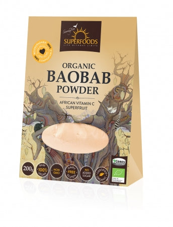 Superfoods Organic Baobab Powder